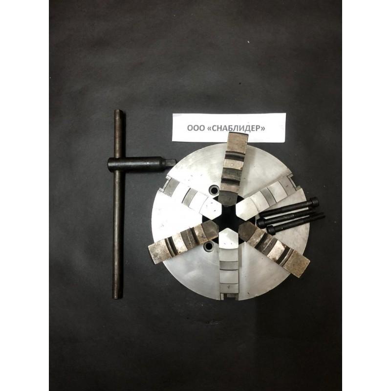 snablider102.ru - Патрон 3-х кулачковый с прямыми и обратными кулачками (7100-0009)ф250