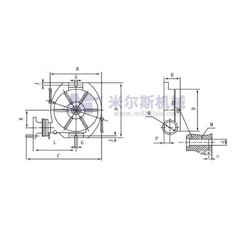 snablider102.ru - Стол поворотный-горизонтальный TS-00158741