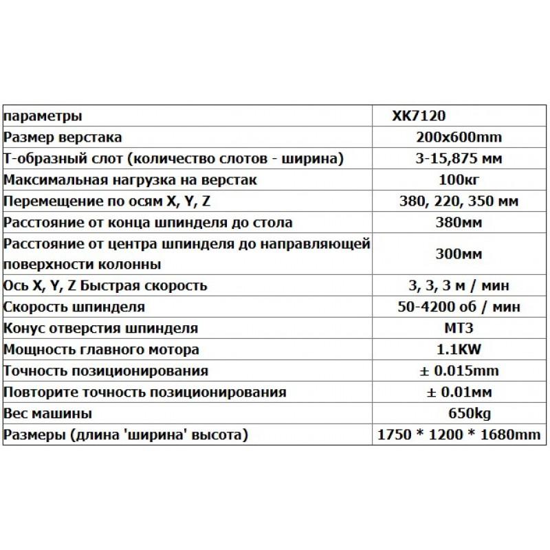 snablider102.ru - Фрезерный станок с ЧПУ-XK7120